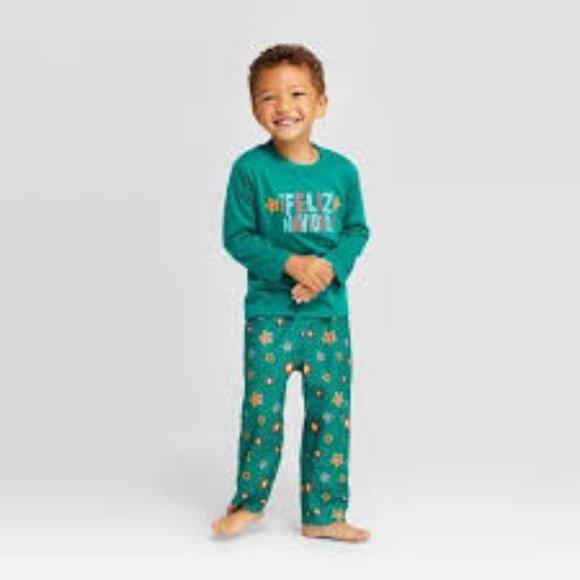 NWT Wondershop Boy/'s Size 5T Two Piece Pajamas